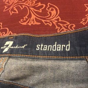 "Size 33""x33"" 7 for all mankind Jean(A110ut2)"